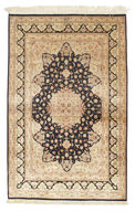 Qum silk signed: Razavi carpet RZZK177