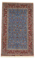 Isfahan silk warp carpet VAZZU5