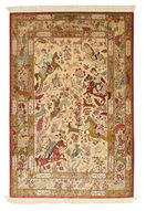 Qum silk carpet VAZZY1