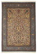 Isfahan silk warp carpet VAZZT20