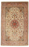 Tabriz 50 Raj with silk carpet VAZZU41