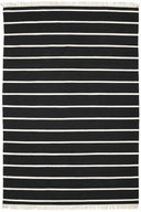 Dhurrie Stripe - Black/White carpet CVD5210