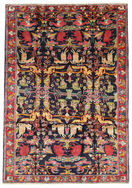 Bakhtiari pictorial carpet EXV59