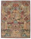 Kashmar Patina pictorial carpet EXW44