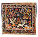 Keshan Patina pictorial carpet EXW41
