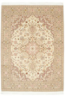 Tabriz 50 Raj with silk carpet MIB2