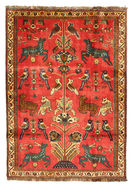 Qashqai pictorial carpet BPJ51
