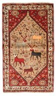 Qashqai pictorial carpet BPJ178