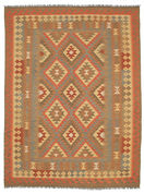 Kilim Afghan Old style carpet SER323