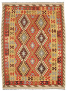 Kilim Afghan Old style carpet SER325