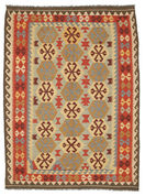 Kilim Afghan Old style carpet SER343
