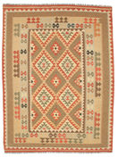 Kilim Afghan Old style carpet SER332