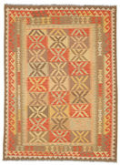 Kilim Afghan Old style carpet SER338