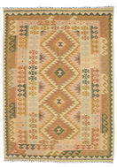 Kilim Afghan Old style carpet SER345
