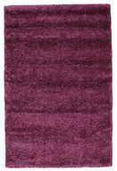 Morocco Berber Shaggy  - Purple carpet CVD7253