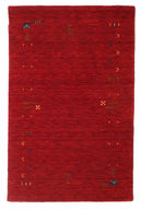 Tapete Gabbeh Loom Fringes - Red CVD5620