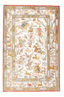 Qum silk signed: Shahiri carpet VEXY6
