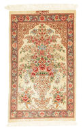 Qum silk signed: Qum Motevasel carpet VEXX72
