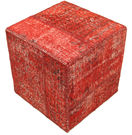 Patchwork Ottoman/Stool teppe BHKW151