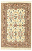 Isfahan silk warp signed: Shakeri carpet HX144