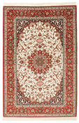 Isfahan silk warp signed: Seigrafian carpet RZZZA19