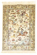 Qum silk signed: Mirmehdy carpet VEXX77