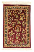 Qum silk signed: Qum Motevasel carpet VEXX66