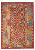 Kilim Afghan Old style carpet ABCO351